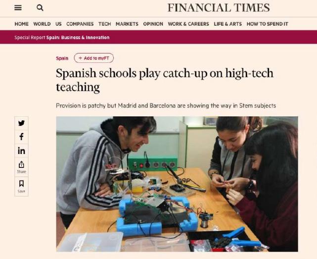 Las rozas next Financial Times